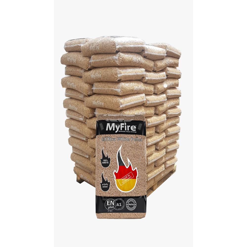 Bancale Pellet 66 sacchi 15 kg EN PLUS A1 Extra Wh
