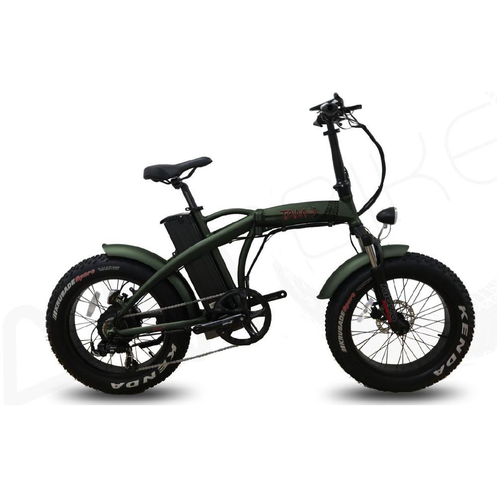 Bicicletta Elettrica Fat 20 Verde