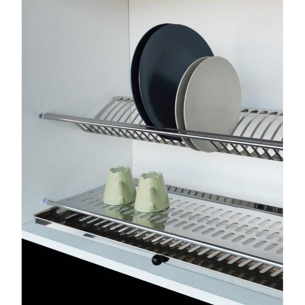 CORBETTA Scolapiatti in acciaio inox con vaschetta - shop online su ...