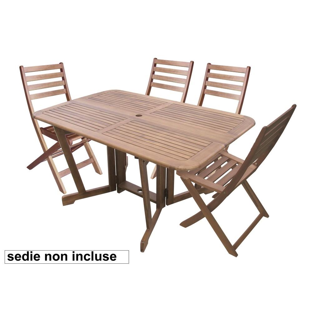 Tavoli Da Giardino Brico.Tavolo Consolle Acacia Shop Online Su Brico Io
