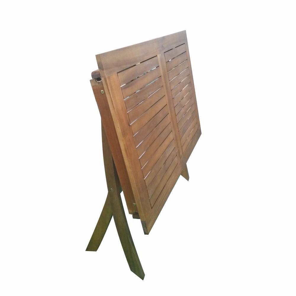 Tavoli Da Giardino Brico.Tavolo Pieghevole Acacia Shop Online Su Brico Io