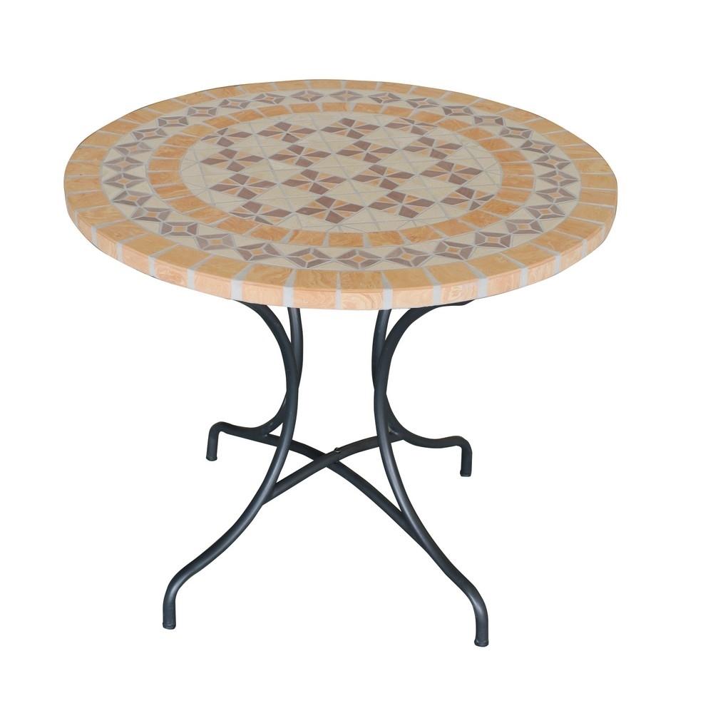 Tavoli Da Esterno Brico.My Garden Tavolo Mosaico Shop Online Su Brico Io