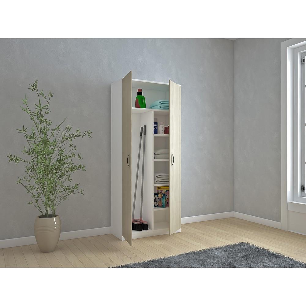 CTF Armadio Portascope bianco/olmo - shop online su Brico io