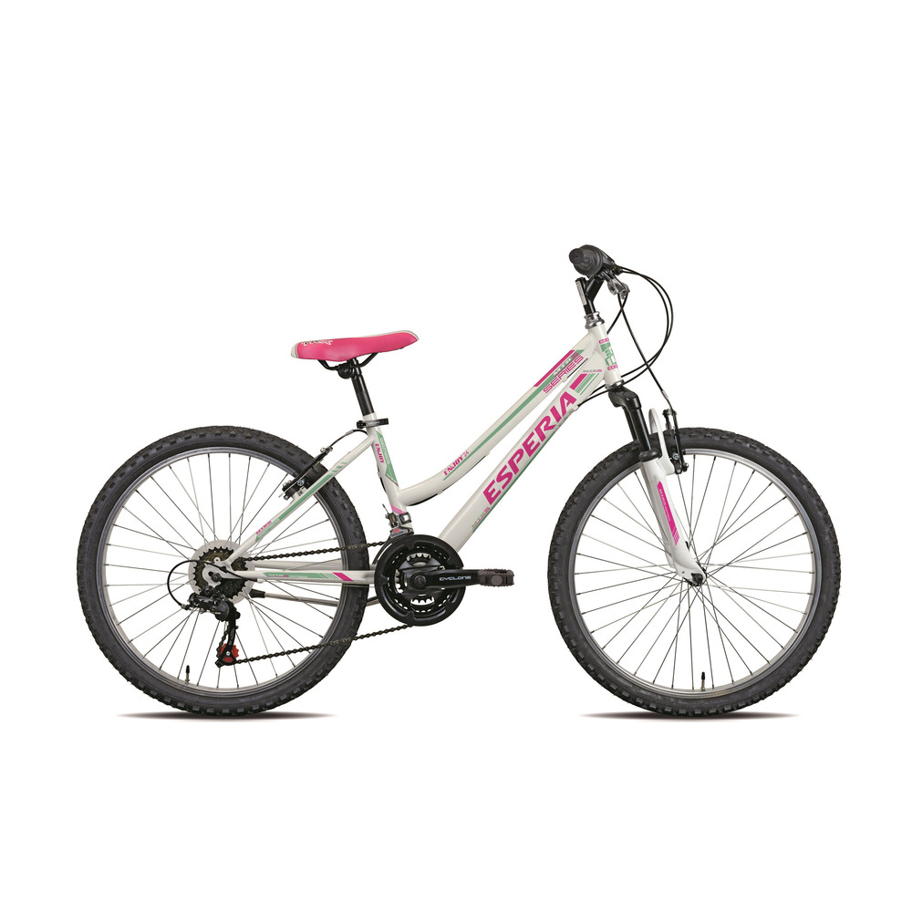 Bicicletta 8400d Smile Biancoverde