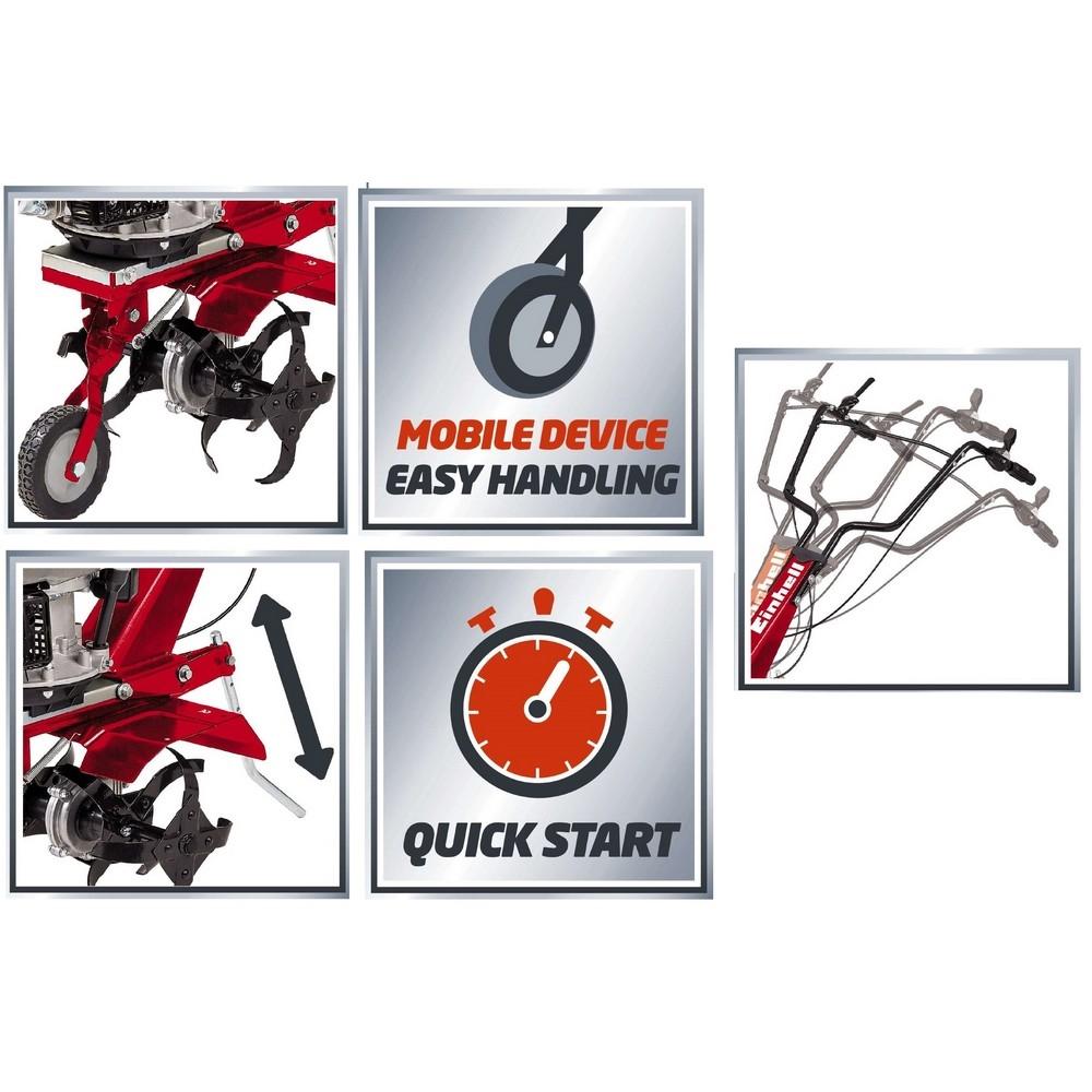 einhell motozappatrice einhell gc mt 1636 shop online su brico io. Black Bedroom Furniture Sets. Home Design Ideas