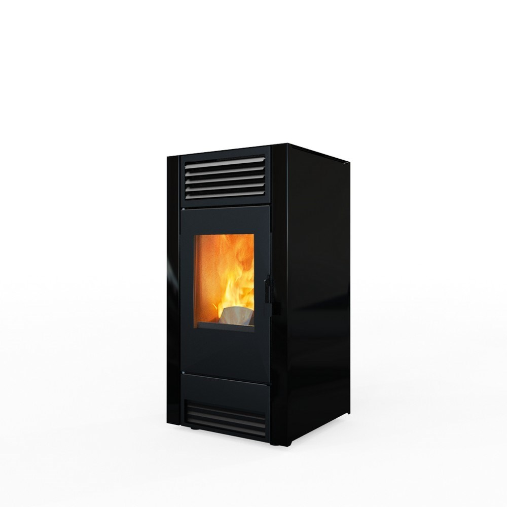 brico pellet elledi stufa pellet ventilata star 8 kw shop online su. Black Bedroom Furniture Sets. Home Design Ideas