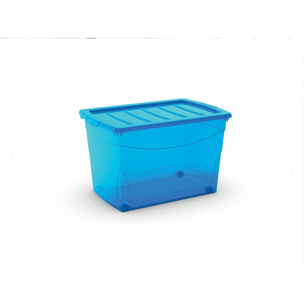 Contenitori In Plastica Brico.Contenitore Omnibox Xl Con Ruote