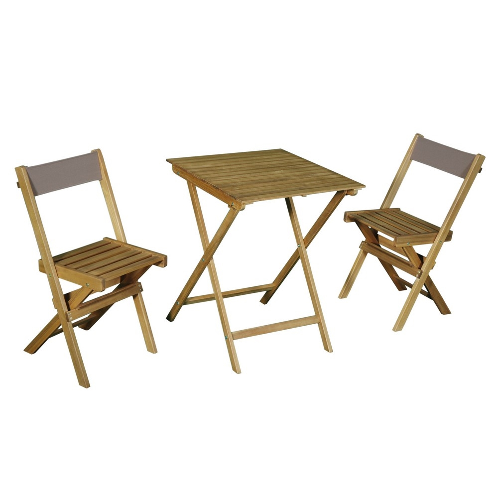 Tavoli E Sedie Da Giardino Brico.My Garden Set Oxford Tavolo 2 Sedie Pieghevoli Shop Online Su