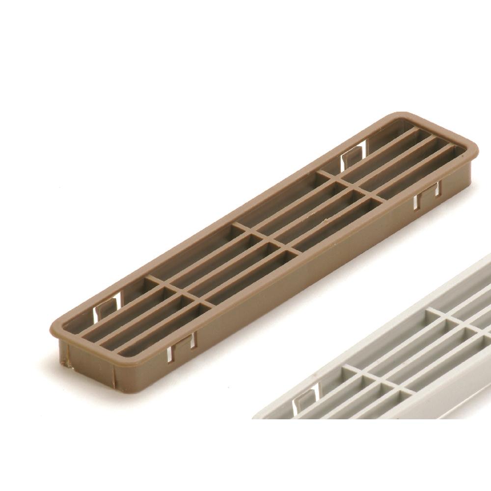Pircher griglia aerazione zoccoli cucina 30x170 mm 2 pz shop online su brico io - Zoccolo per cucina ...