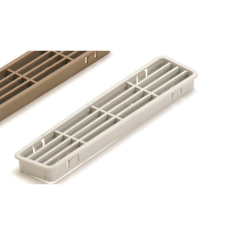 Pircher griglia aerazione zoccoli cucina 30x170 mm 2 pz - Aerazione gas cucina ...