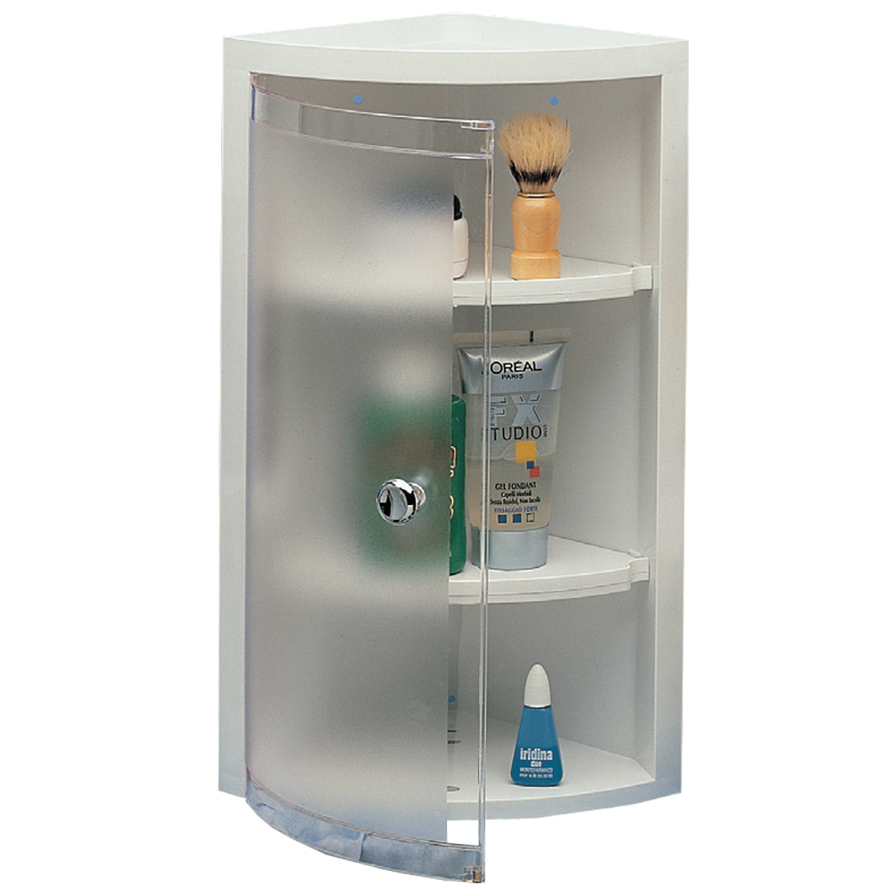 Saniplast rugiada angoliera doccia con anta in abs shop online su brico io - Porta bagnoschiuma per doccia ...