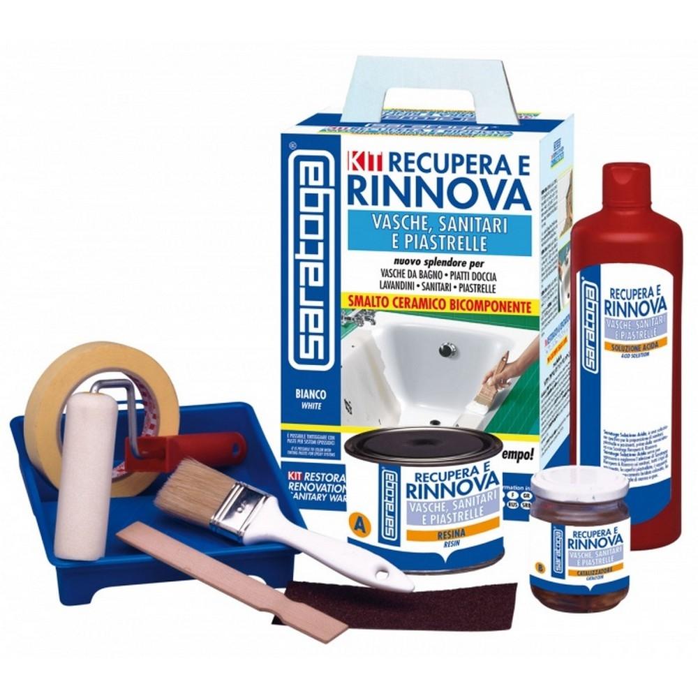 SARATOGA Kit Recupera e rinnova vasche, sanitari, piastrell - shop ...
