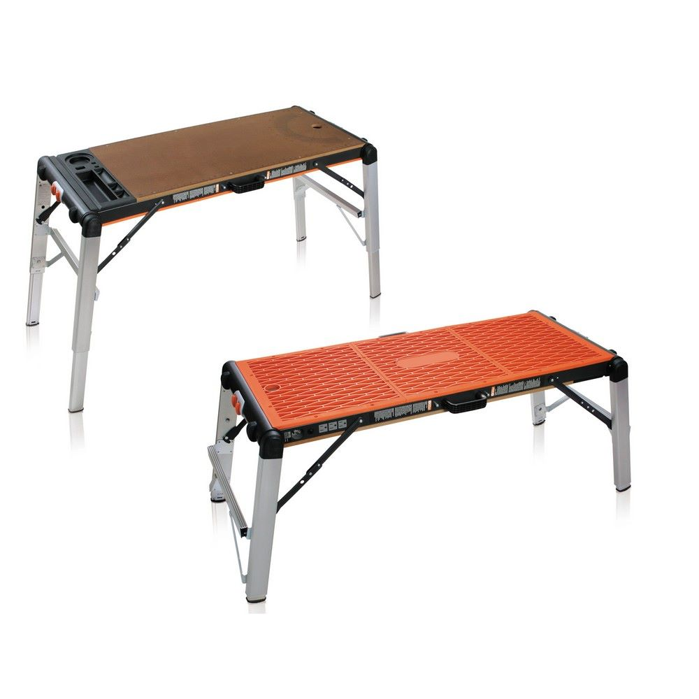 Tavoli Pieghevoli Da Lavoro.Tavolo Trabattello 134 5x61x80 Cm