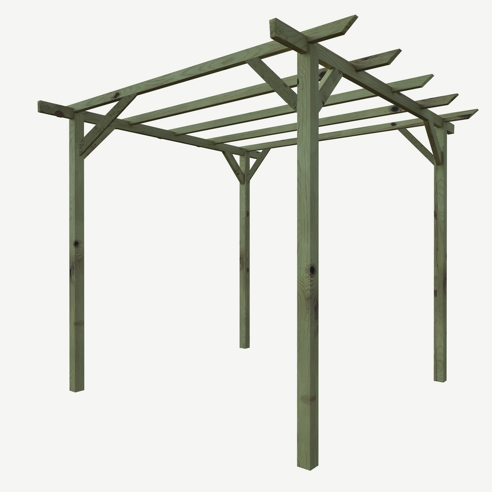 Twig pergola peach shop online su brico io for Pergola brico io
