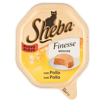 Sheba Finesse Mousse Pollo 85 gr