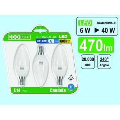 Eco light lampadine led shop online su brico io for Lampadine led online
