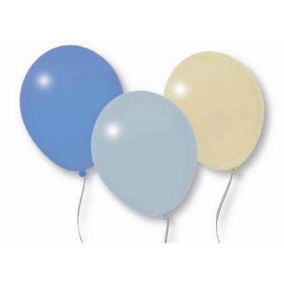 Image of 12 palloncini colori metallici