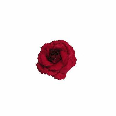 Rosa con clip