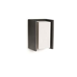 Lampade esterno muro/soffitto: Philips Applique Griglia Alluminio E Sintetico E27 20w.