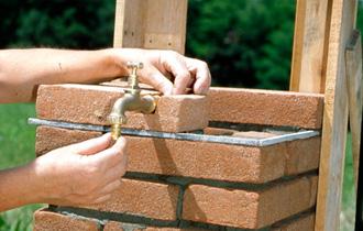 Come Costruire Una Fontana In Cemento.Fontane In Muratura Per Giardino Amazon It Fontane Da Giardino Con